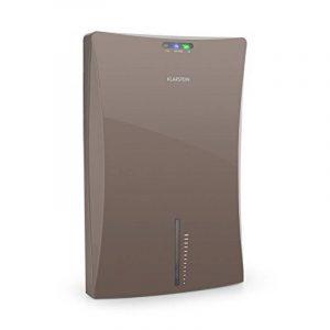 Klarstein Drybest 2000 2G • déshumidificateur d'air • purificateurs d'air • déshumidificateur électrique • 0,7 litres/24 h • compresseur de 70 watts • silencieux grâce à l'élément Peltier • 2 l réservoir • compact • • Ioniseur intégré • gris d image 0 produit