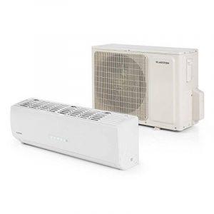 Klarstein Windwaker Supreme 9000 • Inverter Climatiseur split 9000 BTU 2,6/2,8 kW • Fonctions climatisation et chauffage • Classe énergétique A+++ • Idéal rafraîchir, réchauffer et déshumidifier toutes sortes de pièces • 6 vitesses de ventilation de la ma image 0 produit