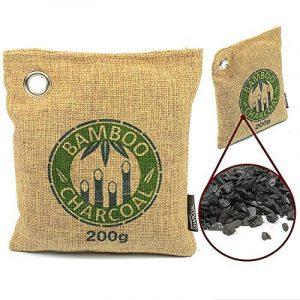 L'Original est Eco-sympathique Rafraichisseur d'Air au Charbon Actif de Bambou & Déshumidificateur de MountainGoods | enlève les mauvaises odeurs, allergènes & polluants | Sans toxines, Chimiques & parfums artificiels | 100% biologique et éco sympathique image 0 produit