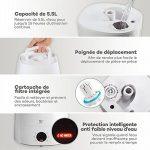 Le meilleur comparatif de : Humidificateur chaud ou froid TOP 1 image 3 produit