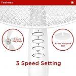 Le meilleur comparatif de : Ventilateur sur pied avec minuterie TOP 0 image 5 produit