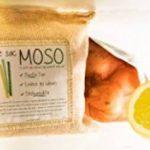 Le Sac MOSO - Purificateur d'air, Désodorisant, Absorbeur d'humidité, Naturel et sans odeur au Charbon de Bambou - 200 Gr - Paille de la marque Le sac MOSO image 4 produit