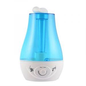 LESHP Humidificateur à Vapeur Ultrasonique Durable Whisper Quiet avec LED Lumière de Nuit Capacité de 3 Litres avec Humidificateur de Maison Entière KLS-025 de la marque LESHP image 0 produit