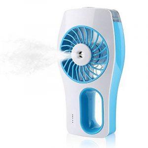Lingsfire® Mini Ventilateur, Mini Fan, Ventilateur à la Main, Ventilateur de Refroidissement, USB Ventilateur, Système de Refroidissement, Maison, Voyage, Dortoir, Bureau de la marque LingsFire image 0 produit