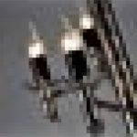 Loft Iron Lamp Retro Lustre industriel noir de la marque JHBD image 4 produit