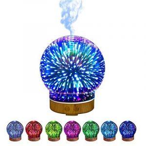 Nibesser Polyvalent Créatif Humidificateur Machine d'aromathérapie Diffuseur d'Huiles Veilleuse Colorée de la marque Nibesser image 0 produit