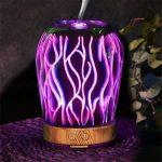 Nibesser Polyvalent Créatif Humidificateur Machine d'aromathérapie Diffuseur d'Huiles Veilleuse Colorée de la marque Nibesser image 1 produit