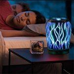 Nibesser Polyvalent Créatif Humidificateur Machine d'aromathérapie Diffuseur d'Huiles Veilleuse Colorée de la marque Nibesser image 3 produit