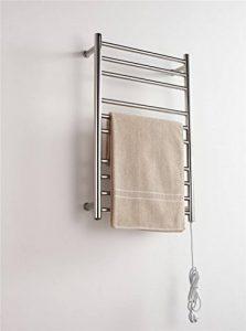 NIHE Salle de bains étagère chauffage par radiateur électrique en acier inoxydable et le bébé de séchage sèche-serviettes de la marque NIHE image 0 produit