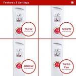 Notre meilleur comparatif pour : Radiateur électrique avec ventilateur TOP 5 image 2 produit