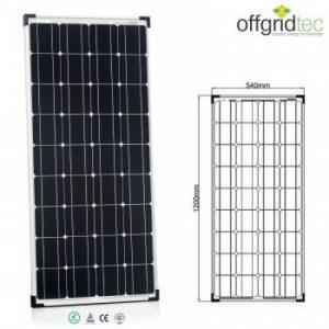 Panneau solaire 100W 12V - CE TUV - photovoltaïque monocristallin de la marque Offgridtec GmbH. image 0 produit