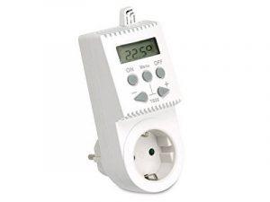 Prise thermostatique digitale pour chauffage électrique TS05, pour prise Française de la marque elektrobock.cz image 0 produit