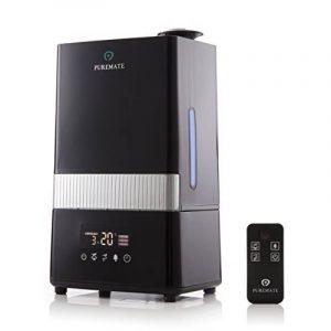 PureMate® PM 908 Digital Ultrasonique Brume Fraîche Humidificateur et Ioniseur avec aromathérapie - Capacité de 4.5 litres d'eau de la marque PureMate image 0 produit