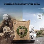 Purificateur d'air iRegro absorbeur d'odeur de charbon de bois, Désodorisant, Absorbeur d'humidité, capture et élimine les odeurs, placards, chaussures, salles de bains, réfrigérateur et zones de Pet (500g -1 paquet) de la marque iRegro image 3 produit