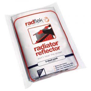 Radflek Réflecteur de chaleur avec 3 feuilles Radstik + 2 bandes adhésives Radstik pour radiateur Radflek de la marque Radflek image 0 produit