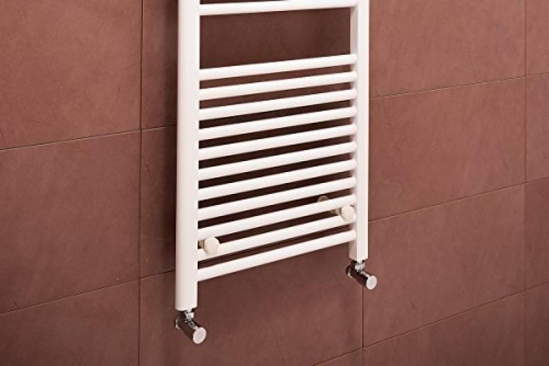 sche serviettes eau chaude 625w 1500 x 500mm droit blanc radiateur salle de bain chauffage central de la marque warmehaus - Radiateur Salle De Bain Chauffage Central