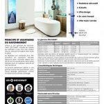 RADIATEUR DECORATIF DESIGN 60X120 CM 750W CLOCK CITY de la marque Decowatt image 2 produit