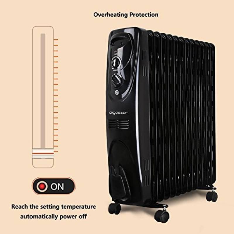 radiateur lectrique bain d huile votre comparatif pour 2018 chauffage et climatisation. Black Bedroom Furniture Sets. Home Design Ideas