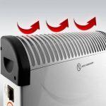 Radiateur électrique - convecteur - chauffage d'appoint électrique - 2000w de la marque Deuba image 3 produit