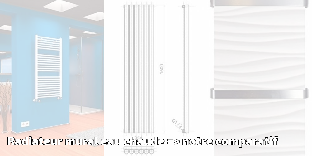 radiateur mural interesting radiateur rayonnant with radiateur mural trendy radiateur eau. Black Bedroom Furniture Sets. Home Design Ideas