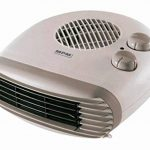 Radiateur soufflant électrique MPM, Chauffage d'appoint, 2 niveaux de chauffage 1000W / 2000W + fonction ventilateur de la marque PM Company image 2 produit