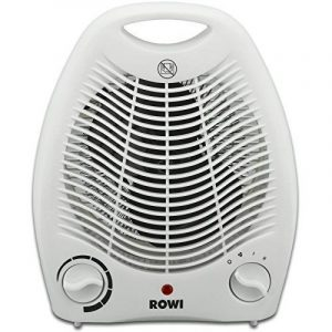 Radiateur soufflant électrique Rowi, Chauffage d'appoint, 2 niveaux de chauffage 1800W / 2000W de la marque ROWI image 0 produit