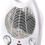 Radiateur soufflant électrique Rowi, Chauffage d'appoint, 2 niveaux de chauffage 1800W / 2000W de la marque ROWI image 1 produit