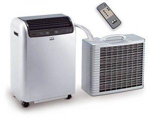 Remko RKL 491 DC Split Climatisation pour une Pièce de 120 m3 ! puissance de refroidissement 4,3 kW Argenté (Ref 1615491) de la marque Remko image 0 produit