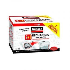 Rubson Recharges classiques pour absorbeur d'humidité 3 + 1 gratuite de la marque Rubson image 0 produit
