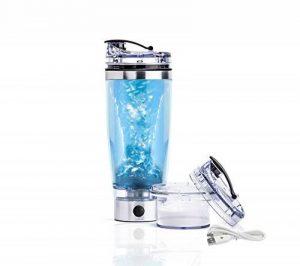 Sayano Professional Plus - Électrique Shaker de Protéines (USB-RECHARGEABLE) avec conteneur - Argent (600ml) de la marque Sayano image 0 produit
