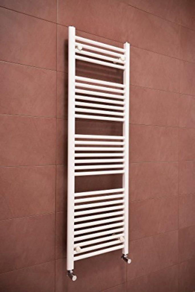 salle de bain chauffage central de la marque warmehaus sche serviettes eau chaude 625w 1500 x 500mm droit blanc radiateur - Radiateur Salle De Bain Chauffage Central