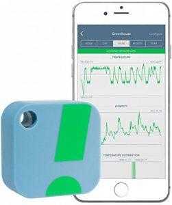 SensorPush Capteur Moniteur de Température et d'Humidité Sans Fil – Thermomètre Hygromètre Bluetooth pour Smartphone, iPhone, Appareil Android - Facile d'Utilisation – Intérieur et Extérieur - Fonction Alarme de la marque SensorPush image 0 produit