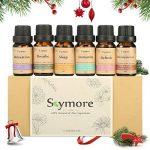 Skymore Set Top 6 Huiles Essentielles---Sleep, Breathe, Relaxation, Refresh, Immunity & Decompression, Aromathérapie Humidificateurs Oils, 100% Pures & Naturelles Ingrédients, Therapeutic Grade, Meilleur Cadeau de la marque Skymore image 6 produit
