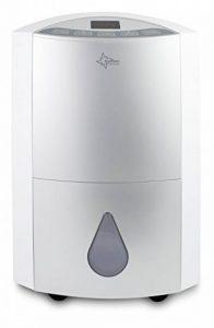 SUNTEC déshumidificateur DryFix 20 Design [pour des pièces jusqu'à 150 m³ (~65 m²), capacité de déshumidification=20l/jour, purification d'air, utilisable pour sécher les linges, 370 watts] de la marque Suntec Wellness image 0 produit