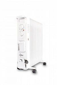 Suntec Wellness 13843Suntec Radiateur à huile avec fonction humidificateur Heat Safe 2500humid [11heizlamellen, 3niveaux de chauffe + Thermostat, de fonction humidificateur séparés (60ml/h), max. 2500W], 240V de la marque Suntec Wellness image 0 produit