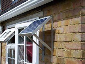Support panneau solaire Cadre de montage réglable avec boulons et fixations de la marque AJS image 0 produit