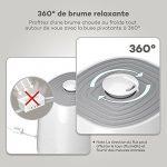 TaoTronics Humidificateur d'Air Ultrasonique à Brume Chaude et Froide 5,5L pour Maison de 40-60㎡ (Mode Nuit, Minuterie 1 à 12h, 6 Indicateurs à LEDs, Protection Niveau d'Eau Bas, Capteur d'Humidité Externe Précis) de la marque TaoTronics image 5 produit