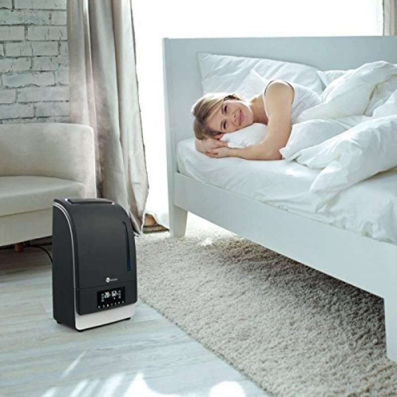 humidificateur eau chaude pour 2018 faites une affaire chauffage et climatisation. Black Bedroom Furniture Sets. Home Design Ideas