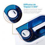 TaoTronics Humidificateur Ultrasonique d'Intérieur à Vaporisation Fraîche 4L (Mode Humidité Constant, Contrôle Niveau de Brume, Paramètres de Minuterie, Purificateur d'Eau Intégré, Veilleuse LED, Buse Rotative à 360 Degrés, Silencieux) de la marque Ta image 5 produit