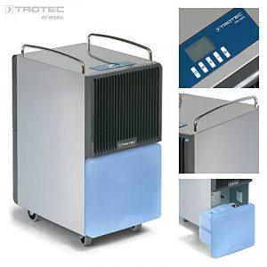 TROTEC TTK 120 E Déshumidificateur d'air, Déshumidificateur Electrique, Déshumidificateur Portable, Absorbeur d'humidité, Déshumidification max. 30 l/j, pour 95 m² max., Hygrostat intégré de la marque Trotec image 0 produit