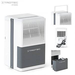 TROTEC TTK 25E–deshumidificación, Max de 10L/24h, pour chambre de 15m²/37m³, couleur blanc de la marque Trotec image 0 produit