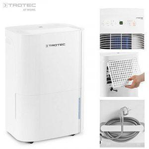 TROTEC TTK 66 E Déshumidificateur d'air, Déshumidificateur Electrique, Déshumidificateur Portable, Absorbeur d'humidité, Déshumidification max. 24 l/j, pour 50 m² max., Hygrostat intégré de la marque Trotec image 0 produit
