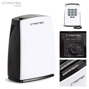 TROTEC TTK 70 E Déshumidificateur d'air, Déshumidificateur Electrique, Déshumidificateur Portable, Absorbeur d'humidité, Déshumidification max. 20 l/j, pour 45 m² max., Hygrostat intégré de la marque Trotec image 0 produit