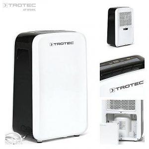 TROTEC TTK 71 E Déshumidificateur d'air, Déshumidificateur Electrique, Déshumidificateur Portable, Absorbeur d'humidité, Déshumidification max. 24 l/j, pour 50 m² max., Hygrostat intégré de la marque Trotec image 0 produit