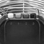 TROTEC Ventilateur de sol TVM 12 | Puissance de 55 watts | Tête du ventilateur inclinable à 100° | Diamètre des pales 30 cm de la marque Trotec image 4 produit