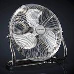 TROTEC Ventilateur de sol TVM 14 | Puissance de 70 watts | 3 niveaux de vitesse | Tête du ventilateur inclinable à 100° | Diamètre des pales 35 cm de la marque Trotec image 2 produit