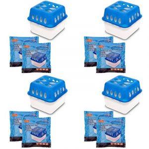Ultra fresh dans le plus fack Pack ou aussi individuelle de butoir de l'humidité avec recharge de sachets absorbeurs Granulés 4 Stück de la marque Koopmann image 0 produit