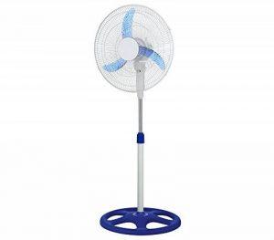 Ventilateur sur pied oscillant - 3 vitesses - hauteur ajustable - diamètre 45 cm de la marque ZEESHOP image 0 produit