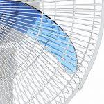 Ventilateur sur pied oscillant - 3 vitesses - hauteur ajustable - diamètre 45 cm de la marque ZEESHOP image 3 produit
