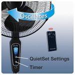 Ventilateur sur pied silencieux avec télécommande => choisir les meilleurs produits TOP 1 image 2 produit